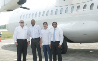 AIRBOX Cargo receives new aircraft for the start of its operations.