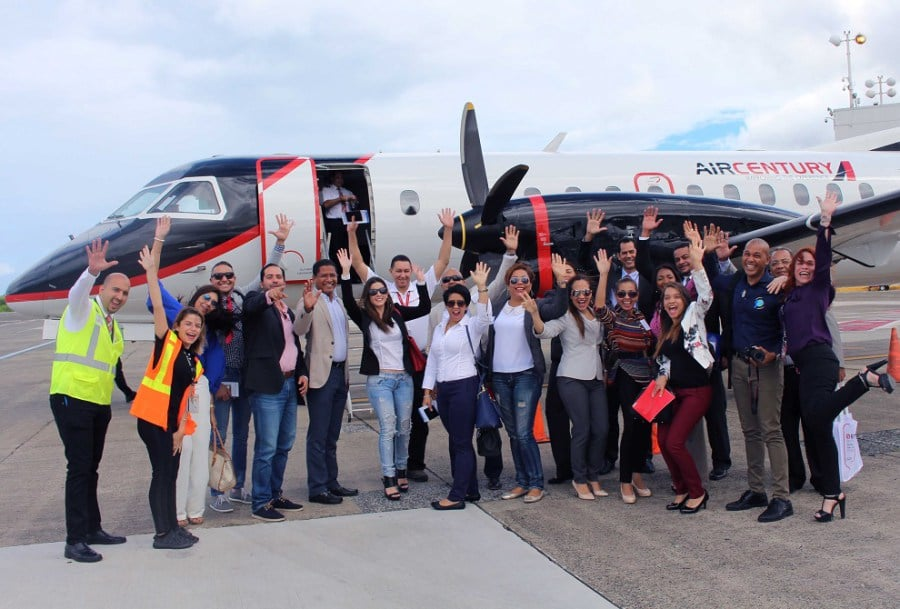 Air Century inaugurates flight Santo Domingo – San Juan, Puerto Rico