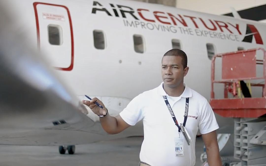 Conoce el equipo de mantenimiento de Air Century