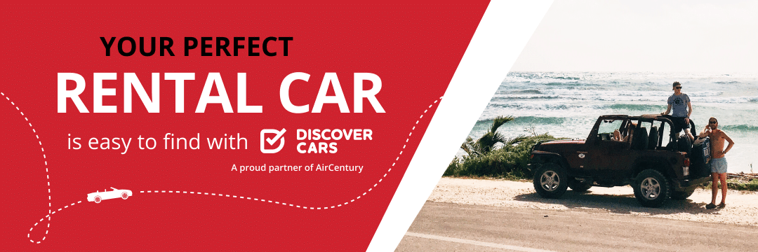Hop into the drive of your dreams with DiscoverCars and Air Century!